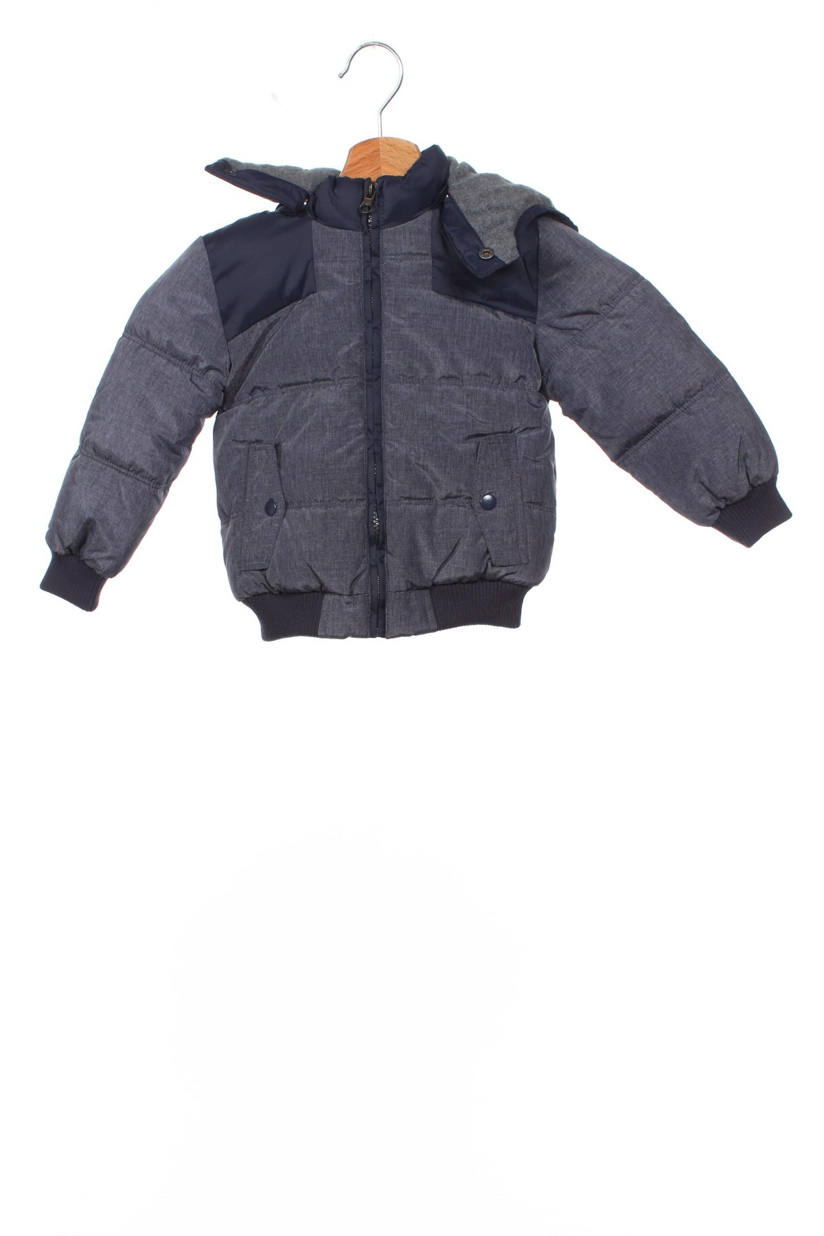 Детско яке Fagottino By Oviesse, Размер 18-24m/ 86-98 см, Цвят Син, 65% полиамид, 35% полиестер, Цена 44,85лв.
