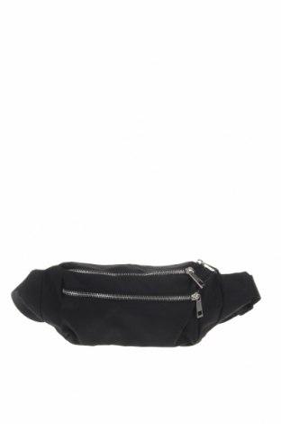 Чанта за кръст Object, Цвят Черен, Текстил, Цена 29,25лв.