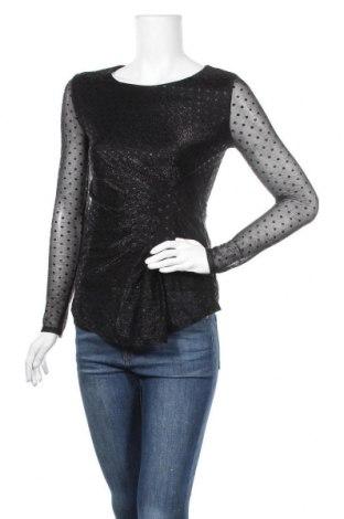 Дамска блуза Camomilla, Размер XS, Цвят Черен, Полиестер, Цена 26,22лв.