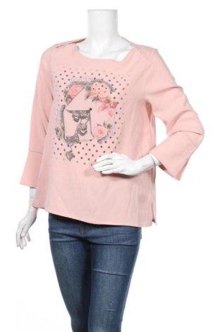 Дамска блуза Camomilla, Размер XL, Цвят Розов, 98% полиестер, 2% еластан, Цена 19,32лв.