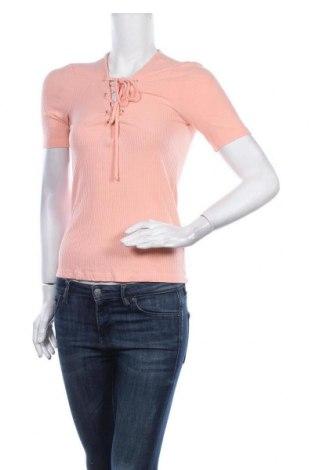 Дамска блуза Cool Cat, Размер M, Цвят Розов, 95% вискоза, 5% еластан, Цена 13,44лв.