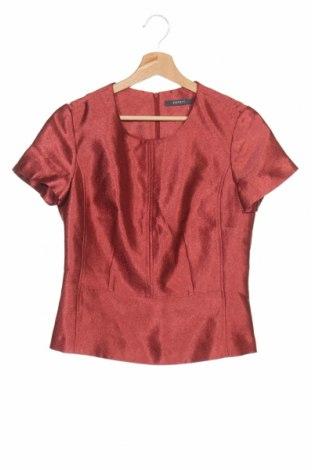 Дамска блуза Esprit, Размер S, Цвят Червен, 68% полиестер, 32% вискоза, Цена 13,39лв.