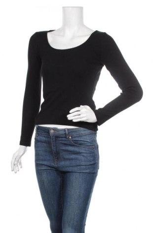 Дамска блуза Even&Odd, Размер XS, Цвят Черен, 95% памук, 5% еластан, Цена 25,50лв.