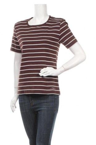 Дамска блуза Fabiani, Размер L, Цвят Кафяв, Памук, Цена 9,66лв.