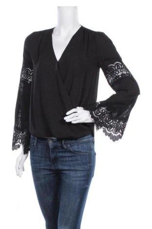 Дамска блуза INC International Concepts, Размер XS, Цвят Черен, Полиестер, Цена 20,16лв.