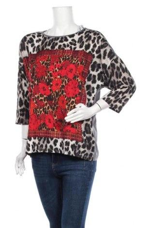Γυναικεία μπλούζα Laura Torelli, Μέγεθος L, Χρώμα Γκρί, Πολυεστέρας, Τιμή 9,35€