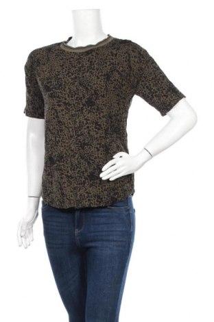 Γυναικεία μπλούζα Soya Concept, Μέγεθος S, Χρώμα Πράσινο, 90% πολυεστέρας, μεταλλικά νήματα, 2% ελαστάνη, Τιμή 3,64€