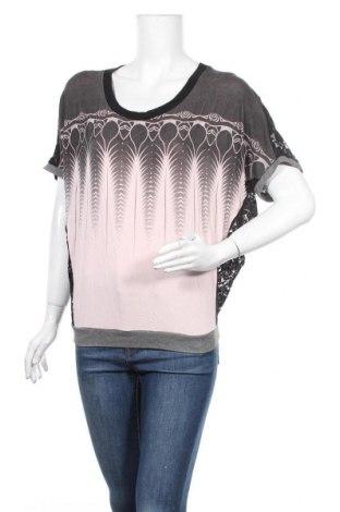 Дамска блуза St-Martins, Размер XS, Цвят Многоцветен, 55% вискоза, 40% полиамид, 5% еластан, Цена 5,59лв.