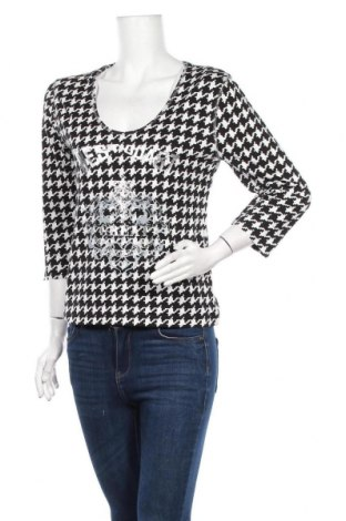 Дамска блуза Tara, Размер M, Цвят Черен, 95% вискоза, 5% еластан, Цена 5,67лв.
