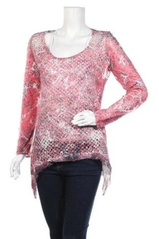 Дамска блуза Tredy, Размер M, Цвят Многоцветен, Полиестер, Цена 4,73лв.