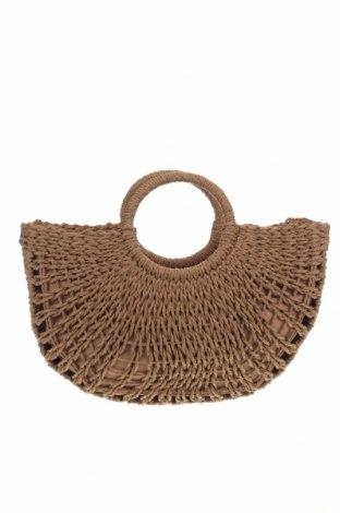 Γυναικεία τσάντα, Χρώμα  Μπέζ, Άλλα υλικά, Τιμή 13,86€