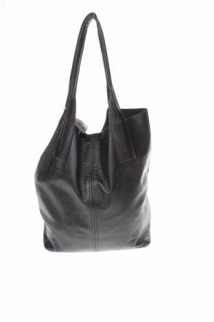 Дамска чанта, Цвят Черен, Естествена кожа, Цена 38,00лв.
