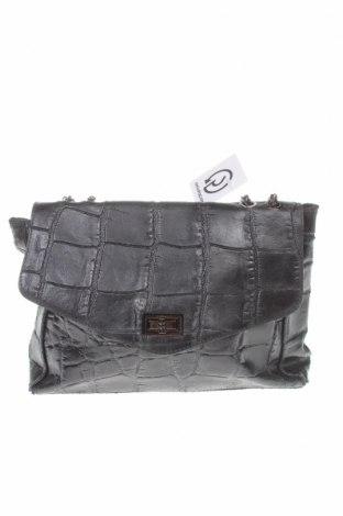 Дамска чанта, Цвят Черен, Естествена кожа, Цена 46,00лв.