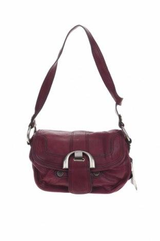 Дамска чанта B MAKOWSKI, Цвят Лилав, Естествена кожа, Цена 51,45лв.