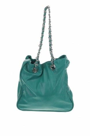 Дамска чанта Camomilla, Цвят Зелен, Еко кожа, Цена 36,57лв.