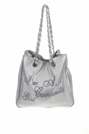 Дамска чанта Camomilla, Цвят Сив, Еко кожа, Цена 43,45лв.