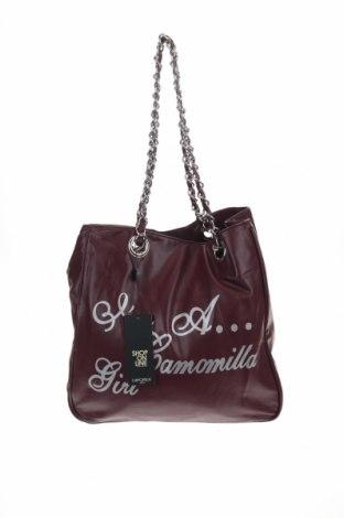 Дамска чанта Camomilla, Цвят Червен, Еко кожа, Цена 44,85лв.