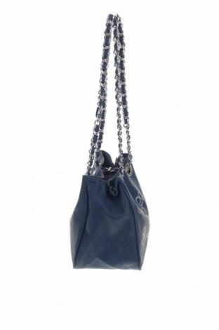 Γυναικεία τσάντα Camomilla, Χρώμα Μπλέ, Δερματίνη, Τιμή 22,81€