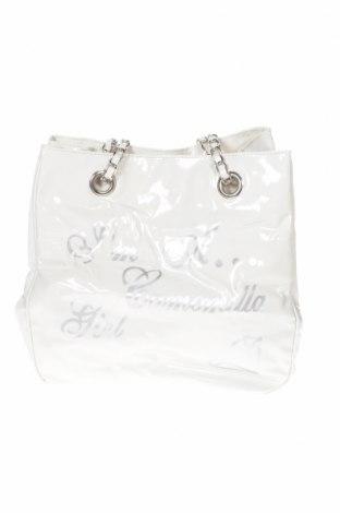 Дамска чанта Camomilla, Цвят Бял, Еко кожа, Цена 41,48лв.