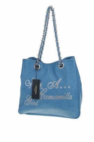 Дамска чанта Camomilla, Цвят Син, Еко кожа, Цена 51,35лв.