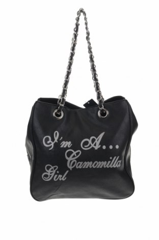 Дамска чанта Camomilla, Цвят Черен, Еко кожа, Цена 43,45лв.