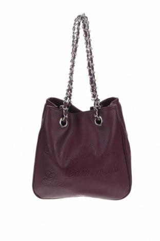 Дамска чанта Camomilla, Цвят Червен, Еко кожа, Цена 45,82лв.