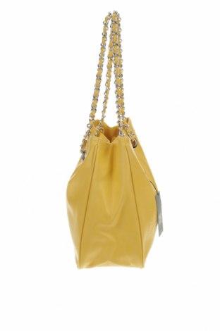 Дамска чанта Camomilla, Цвят Жълт, Еко кожа, Цена 33,12лв.