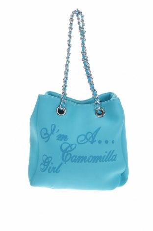 Дамска чанта Camomilla, Цвят Син, Текстил, Цена 16,17лв.