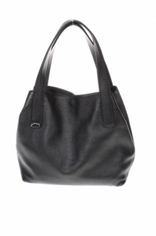 Дамска чанта Coccinelle, Цвят Черен, Естествена кожа, Цена 363,30лв.