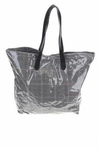 Дамска чанта Cropp, Цвят Сив, Полиуретан, Цена 20,16лв.