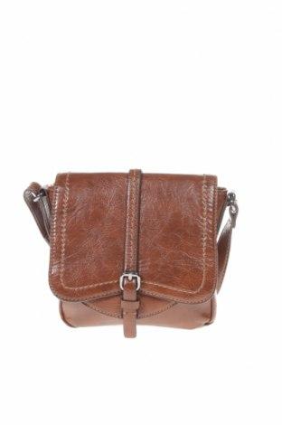 Дамска чанта Esprit, Цвят Кафяв, Естествена кожа, Цена 31,50лв.