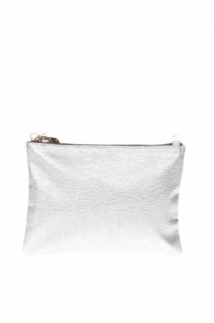 Дамска чанта H&M, Цвят Сребрист, Еко кожа, Цена 29,25лв.