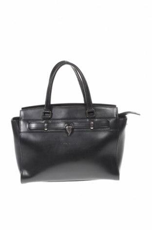 Дамска чанта Lancaster, Цвят Черен, Естествена кожа, Цена 69,00лв.