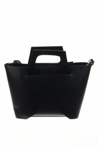 Дамска чанта Maison Heritage, Цвят Черен, Еко кожа, Цена 179,50лв.
