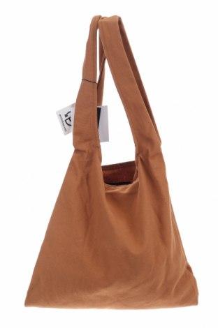 Дамска чанта Object, Цвят Кафяв, Текстил, Цена 27,56лв.