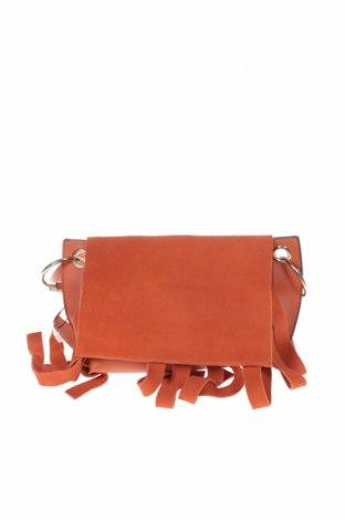 Γυναικεία τσάντα Parfois, Χρώμα Πορτοκαλί, Δερματίνη, κλωστοϋφαντουργικά προϊόντα, Τιμή 22,37€