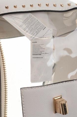 Дамска чанта Parfois, Цвят Бял, Еко кожа, полиуретан, Цена 17,70лв.