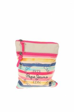Дамска чанта Pepe Jeans, Цвят Многоцветен, Еко кожа, Цена 31,50лв.