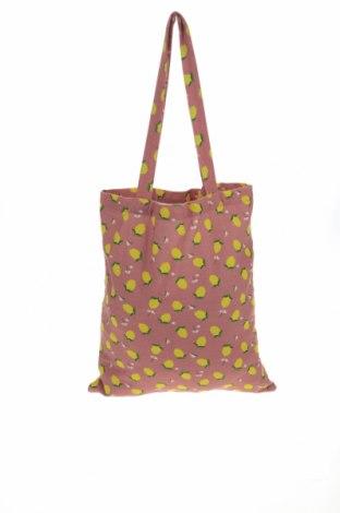 Дамска чанта Pieces, Цвят Многоцветен, Текстил, Цена 36,75лв.
