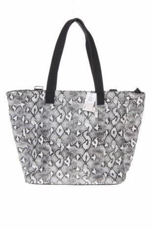 Дамска чанта Reserved, Цвят Черен, Еко кожа, Цена 36,75лв.