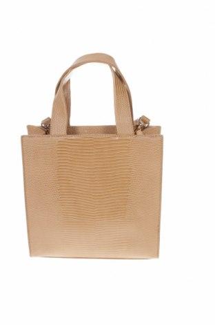 Γυναικεία τσάντα Reserved, Χρώμα Καφέ, Δερματίνη, Τιμή 10,42€