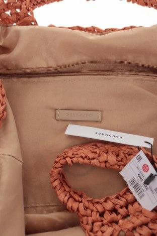 Дамска чанта Reserved, Цвят Оранжев, Други материали, Цена 51,75лв.