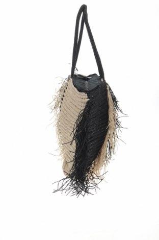 Дамска чанта Reserved, Цвят Бежов, Други материали, Цена 51,75лв.