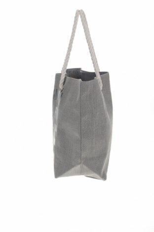 Дамска чанта Reserved, Цвят Сив, Текстил, Цена 28,32лв.