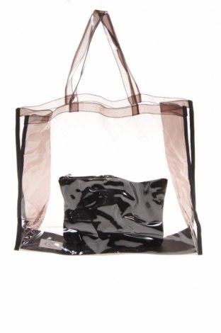 Дамска чанта Reserved, Цвят Черен, Полиуретан, Цена 31,50лв.