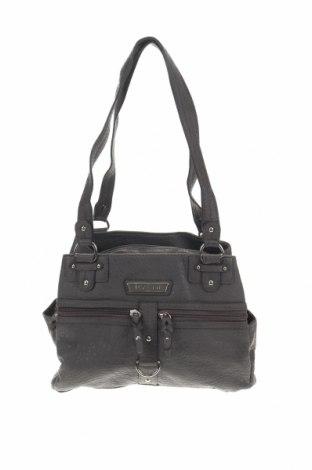 Дамска чанта Rosetti, Цвят Сив, Еко кожа, Цена 21,95лв.