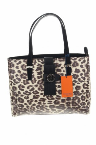 Дамска чанта Trussardi Jeans, Цвят Многоцветен, Еко кожа, Цена 129,50лв.