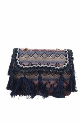 Дамска чанта Vero Moda, Цвят Многоцветен, Текстил, Цена 30,87лв.
