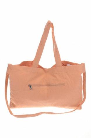 Дамска чанта Vero Moda, Цвят Оранжев, Текстил, Цена 34,22лв.