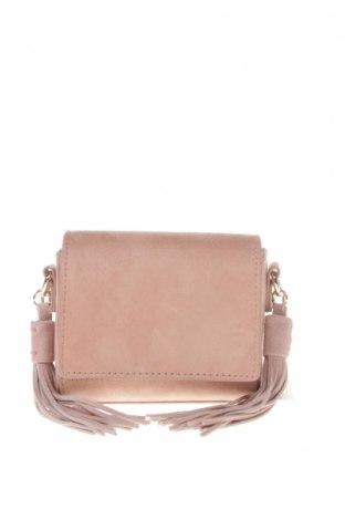 Дамска чанта Zara, Цвят Розов, Текстил, Цена 25,50лв.
